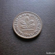 Monedas antiguas de Europa: ALEMANIA ( REP. FEDERAL ) 2 PFENNIG 1965 G. Lote 113281055