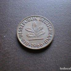 Monedas antiguas de Europa: ALEMANIA ( REP. FEDERAL ) 2 PFENNIG 1966 D. Lote 113281131