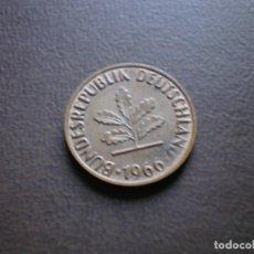 Monedas antiguas de Europa: ALEMANIA ( REP. FEDERAL ) 2 PFENNIG 1966 J. Lote 113281283