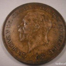 Monedas antiguas de Europa: GEORGE V 1936 PENNY. Lote 113445123