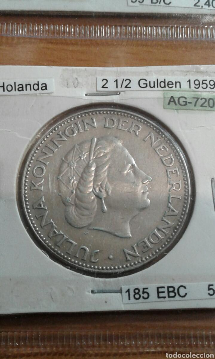 HOLANDA PLATA 2 1/2 GULDEN MBC KM185 (Numismática - Extranjeras - Europa)