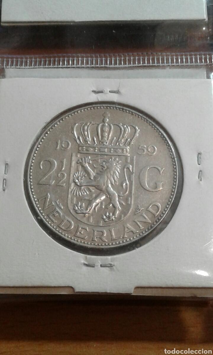 Monedas antiguas de Europa: Holanda plata 2 1/2 gulden mbc km185 - Foto 2 - 113605484