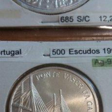 Monedas antiguas de Europa: PORTUGAL PLATA 500 ESCUDOS 1998 SC KM705. Lote 113662027