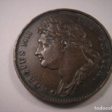 Monedas antiguas de Europa: GRAN BRETAÑA GEORGE IIII FARTHING 1822. Lote 113733911