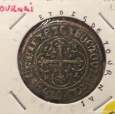 Monedas antiguas de Europa: EDU8 - FRANCIA - JETON DE COMPTE - TOURNAI - CIRCA DE 1500. Lote 114008831