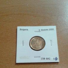 Monedas antiguas de Europa: BULGARIA 2 STOTINKI 2000 SC KM238. Lote 114614424