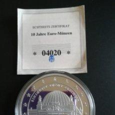 Monedas antiguas de Europa: MONEDA EXCELENTE EN CONMEMORACIÓN DEL EURO CON CERTIFICADO DE AUTENTICIDAD.. Lote 114696291