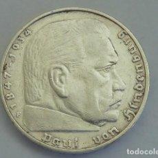 Monedas antiguas de Europa: MONEDA DE PLATA 5 MARCOS 1935 CECA F, STUTTGART, ALEMANIA NAZI, MARISCAL PAUL VON HINDENBURG. Lote 114700927
