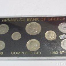 Monedas antiguas de Europa: ESTUCHE CON 8 MONEDAS GRIEGAS ANTIGUAS. Lote 114708507