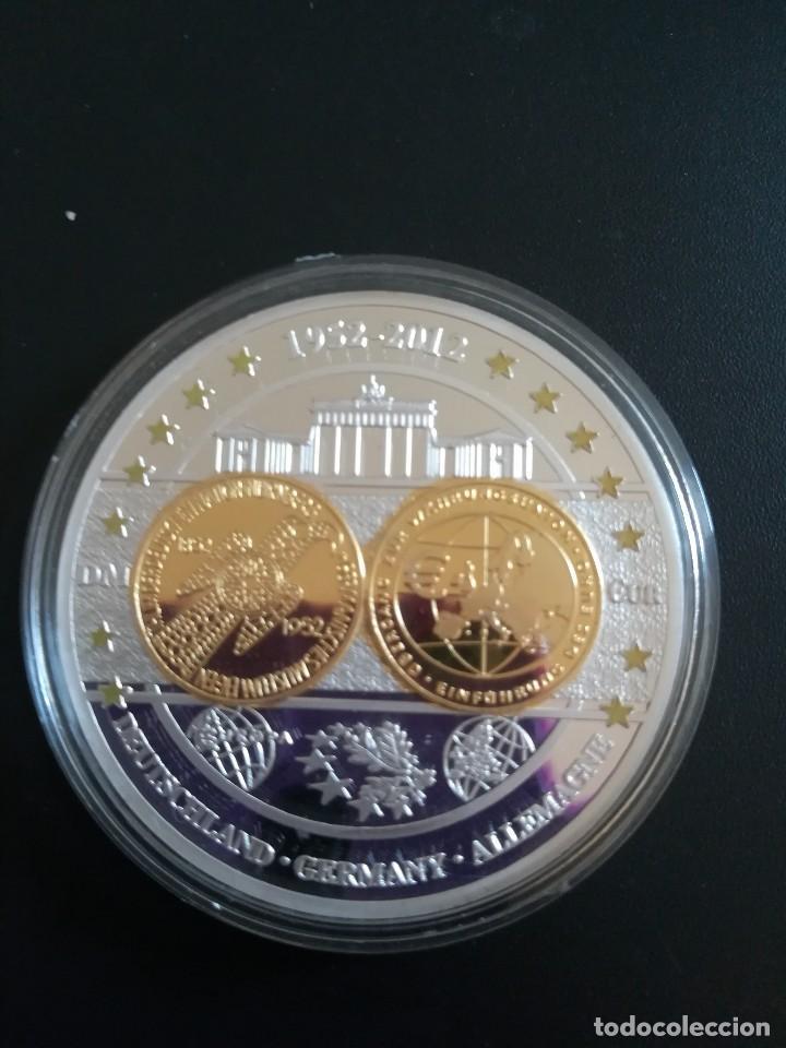 MONEDA DE ALEMANIA 1952 - 2012 EN CONMEMORACIÓN DEL EURO PLACA PULIDA. (Numismática - Extranjeras - Europa)