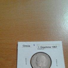 Monedas antiguas de Europa: GRECIA 1 DRACHMA 1967 EBC KM89. Lote 115204214