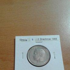 Monedas antiguas de Europa: GRECIA 2 DRACHMA 1966 EBC KM90. Lote 115204851