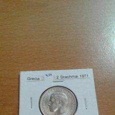 Monedas antiguas de Europa: GRECIA 2 DRACHMA 1971 SC KM99. Lote 115205060