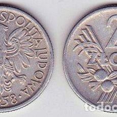 Monedas antiguas de Europa: POLONIA – 2 ZLOTE 1974, Y 46, CALIDAD MBC+ . Lote 115294375