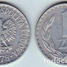 Monedas antiguas de Europa: POLONIA – 1 ZLOTY 1983, Y 49.1, CALIDAD EBC+ . Lote 115294671