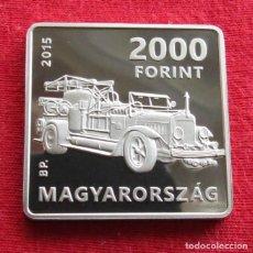 Monedas antiguas de Europa: HUNGRIA HUNGARY 2000 FORINT 2015 COCHE. Lote 115296471