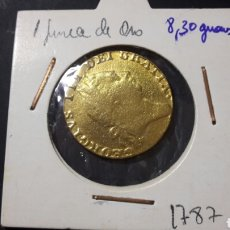 Monedas antiguas de Europa: 1 GUINEA DE ORO JORGE III INGLATERRA 1787. Lote 115437598