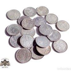 Monedas antiguas de Europa: 19 MONEDAS DE ALEMANIA.- 2 MARCOS 1937. 38. 39 - III REICH - PLATA - CRUZ GAMADA - ESVASTICA. Lote 115587147