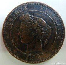 Monedas antiguas de Europa: 10 CÉNTIMOS. FRANCIA 1872. Lote 115655767