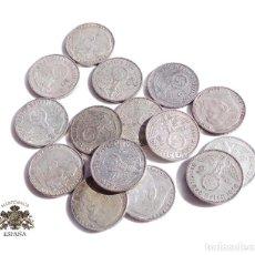 Monedas antiguas de Europa: 15 MONEDAS DE ALEMANIA.- 2 MARCOS 1937. 38. 39 - III REICH - PLATA - CRUZ GAMADA - ESVASTICA. Lote 115945843
