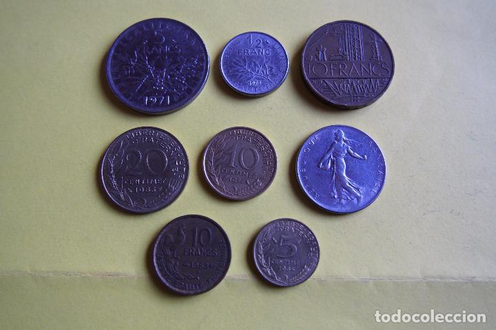 Monedas antiguas de Europa: LOTE 8 MONEDAS REPUBLIQUE FRANÇAISE. FRANCE. FRANCIA. DIVERSOS MODELOS Y AÑOS. VER FOTOS - Foto 4 - 116092011