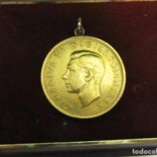 Monedas antiguas de Europa: MONEDA GEORGIVS VI CHAPADA EN ORO, HALF CROWN 1948. Lote 116265979