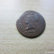 Monedas antiguas de Europa: ANTIGUA MONEDA DE 1 CENTIMO DUPRE DE FRANCIA DIRECTORIO AÑO 6 1797. Lote 116327527