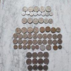 Monedas antiguas de Europa: LOTE DE 83 MONEDAS DE DIFERENTES PAISES.. Lote 116427223