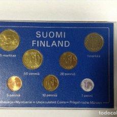 Monedas antiguas de Europa: FINLANDIA 1977 7 MONEDAS EN CAJA. Lote 116561039