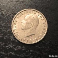 Monedas antiguas de Europa: MONEDA 1 DRACMA GRECIA 1954. Lote 116848531