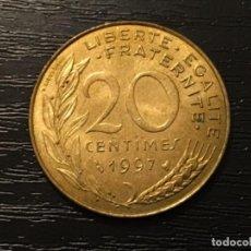 Monedas antiguas de Europa: MONEDA 20 CÉNTIMOS FRANCIA 1997. Lote 117162547
