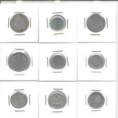 Alte Münzen aus Europa - LOTE MONEDAS DE ALUMINIO DE EUROPA Y ASIA - ENCARTONADAS - MBC - EBC - POLONIA, FINLANDIA, ITALIA - 117306807