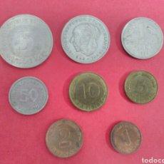 Monedas antiguas de Europa: ALEMANIA. LOTE/SET. DE LAS MONEDAS ANTERIORES AL EURO.. Lote 117393899