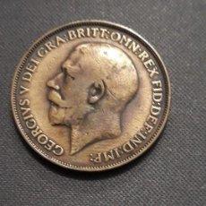 Monedas antiguas de Europa: GRAN BRETAÑA 1 PENIQUE 1912 H. Lote 117399451