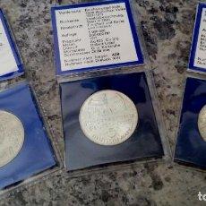 Monedas antiguas de Europa: INTERESANTE LOTE DE 3 MONEDAS DE ALEMANIA 5 MARCOS DE PLATA AÑO 1968 Y OTRA DE PLATA AÑO 1971 Y 1985. Lote 117513875