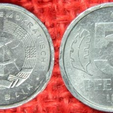 Monedas antiguas de Europa: REPUBLICA DEMOCRATICA ALEMANA - 1981 - 5 PFENNIG. Lote 117753135