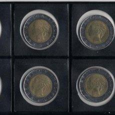 Monedas antiguas de Europa: COLECCIÓN 500 LIRAS 1982,1983,1984,1985,1986,1987,1988,1989 SIN CIRCULAR. Lote 117909175