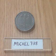 Monedas antiguas de Europa: MONEDA ALEMANIA 2 MARCOS (AÑO 1958) CECA F. Lote 100253843