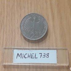 Monedas antiguas de Europa: MONEDA ALEMANIA 2 MARCOS (AÑO 1961) CECA F. Lote 100254163