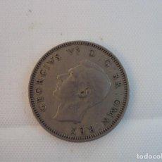 Monedas antiguas de Europa: MONEDA DE GEORGIVS VI DE INGLATERRA, 1949 ONE SHILLINGS, BRONCE, 23 MM, 5 GR. Lote 118310843