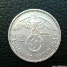 Monedas antiguas de Europa: 2 REINSMARCK 1937 F MBC. Lote 118380871