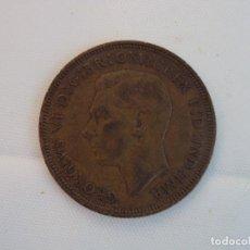 Monedas antiguas de Europa: MONEDA1946 GEORGE VI COBRE , ONE PENNY 32 MM, 11 GR. Lote 118407107