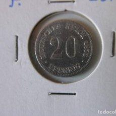 Monedas antiguas de Europa: MONEDA 20 PFENNIG - ALEMANIA - 1873 F - PLATA - MBC. Lote 118480175