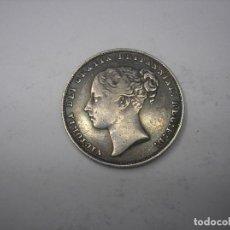Monedas antiguas de Europa: GRAN BRETAÑA. 1 SHILLING DE PLATA DE 1865. REINA VICTORIA. Lote 118536835