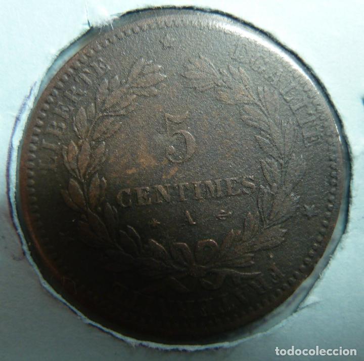 Monedas antiguas de Europa: FRANCIA 1872. 5 CÉNTIMOS - Foto 2 - 118576639