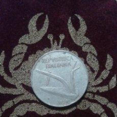 Monedas antiguas de Europa: MONEDA ITALIA. 10 LIRAS 1952.. Lote 118589516