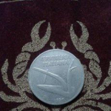 Monedas antiguas de Europa: MONEDA ITALIA. 10 LIRAS 1956.. Lote 118590678