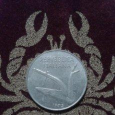 Monedas antiguas de Europa: MONEDA ITALIA. 10 LIRAS 1975.. Lote 118590960