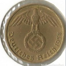 Monedas antiguas de Europa: ALEMANIA - TERCER REICH 5 REICHSPFENNIG, 1938 CECA D - MÚNICH. Lote 252869020