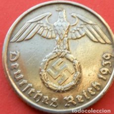 Monedas antiguas de Europa: ALEMANIA - TERCER REICH 5 REICHSPFENNIG, 1939 CECA B - VIENA. Lote 118653359